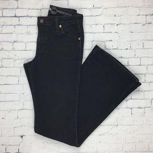 Wrangler ModCloth Flared Finesse Jeans Black